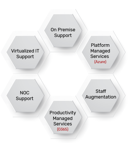 Leverage a wide range of engagement models for managed IT services